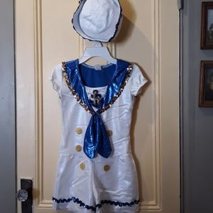 Other - Size 12-14 will fit smaller. 1piece sailor outfit.